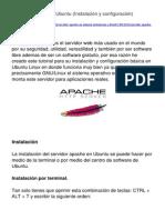 Servidor Apache en Ubuntu