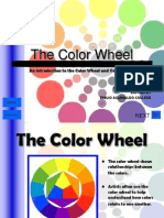 color wheel powerpoint mae