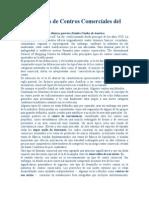 Definiciones de Centros Comerciales Del ICSC