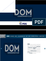 DOM CONDOMINIUM CLUB  PDG VENDAS tel. (21) 7900-8000