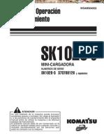 Manual Operacion Mantenimiento Minicargador Sk1020 5 Komatsu
