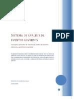 Sistema de análisis de eventos adversos