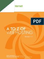 Web Hosting Jargon Buster