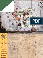 El Perú  Un nombre con propia historia