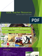 esol teacher resources