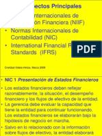 Videla-Hintze, Cristóbal, 2008, Presentación IFRS