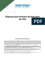 Etiquetas CFD AdminPaq