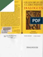G. Deleuze, C. Parnet - Dialogues
