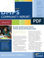October 2013 DMPS Community Report
