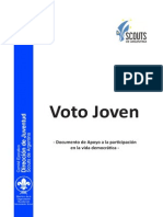 Voto Joven - Participación en la vida democrática