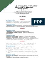 Programación 2009 II Farmacología Grupo 03