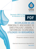 Recopilacion de Los Indicadores de Siniestralidad Laboral en Iberoamerica