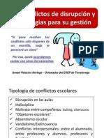 Disrupción y estrategias - ISMAEL PALACIOS