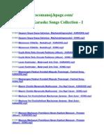 Malayalam I Corrected List