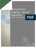 Inicio a Programa OpenOffice