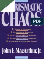 Charismatic Chaos - John F. MacArthur