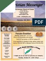 October 20 Newsletter