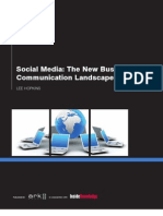 Social Media- New Business Communication Landscape