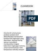 CLEANROOM, Disinfektan vs Sterilisasi