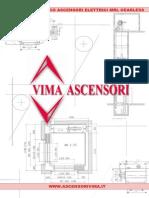 Catalogo Tecnico Ascensori Elettrici Mrl Gearless.