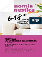 Programma Festival La Violenza Illustrata 2012