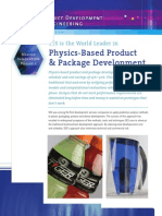SES - Physics Based Product Development