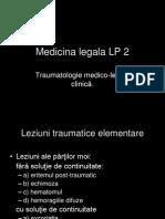 Medicina Legala LP 2