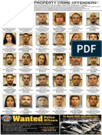 Property Crime Offenders Oct. 2013