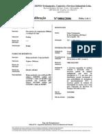 Certificado Trena P-041