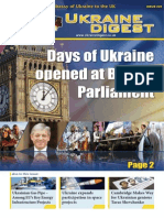 Ukraine Digest. Issue 25 (October 18. 2013)