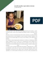 15/10/13 newsoaxaca Una dieta balanceada ayuda a que niños crezcan