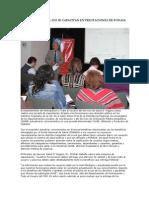 16/10/13 elurbanorural FUNCIONARIOS DEL SSO SE CAPACITAN EN PRESTACIONES DE FONASA