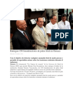 16/10/13 Oaxaca-digital Entregan 150 Fonodetectores de Pulso Fetal en Oaxaca