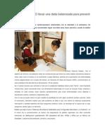 17/10/13 Diariomarca Recomienda SSO Llevar Una Dieta Balanceada Para Prevenir Enfermedades
