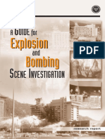 Explosion and Bomb Scene Investigation Ni j