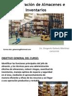 Administración de Almacenes e Inventarios COPARMEX SEPT 2013