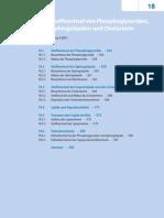 18 - Stoffwechsel Von Phosphoglyceriden Sphingolipiden Und Cholesterin