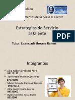 Presentación Estrategias de Servicio al Cliente