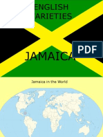 Varieties of English - Jamaica
