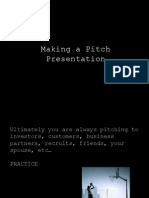 How to Make a Pitch Presentation