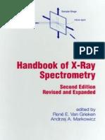 Handbook of X-Ray Spectrometry
