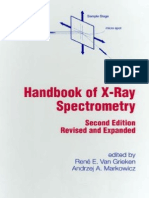 Handbook of X-Ray Spectrometry
