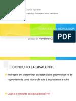 Hidraulica_Conduto_equivalente