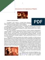 Andrei Cornea între paranteze, de la origini până pe Wikipedia