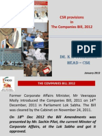 Companies Bill 2011 Dr KK Upadhyal