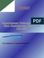 k.21 Dry Pleurisy
