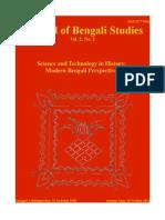 Journal of Bengali Studies Vol.2 No.2