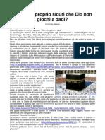 Corrado Malanga - 2009-06-20 - Ma Siamo Proprio Sicuri Che Dio Non Gioca a Dadi _SoXoS