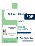 Sistemas Operativos - Administracion de procesos