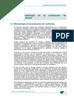 Metodología en La Evaluación de Conflictos